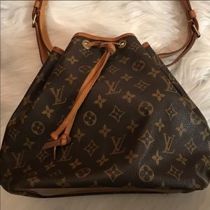 Louis Vuitton bucket bag